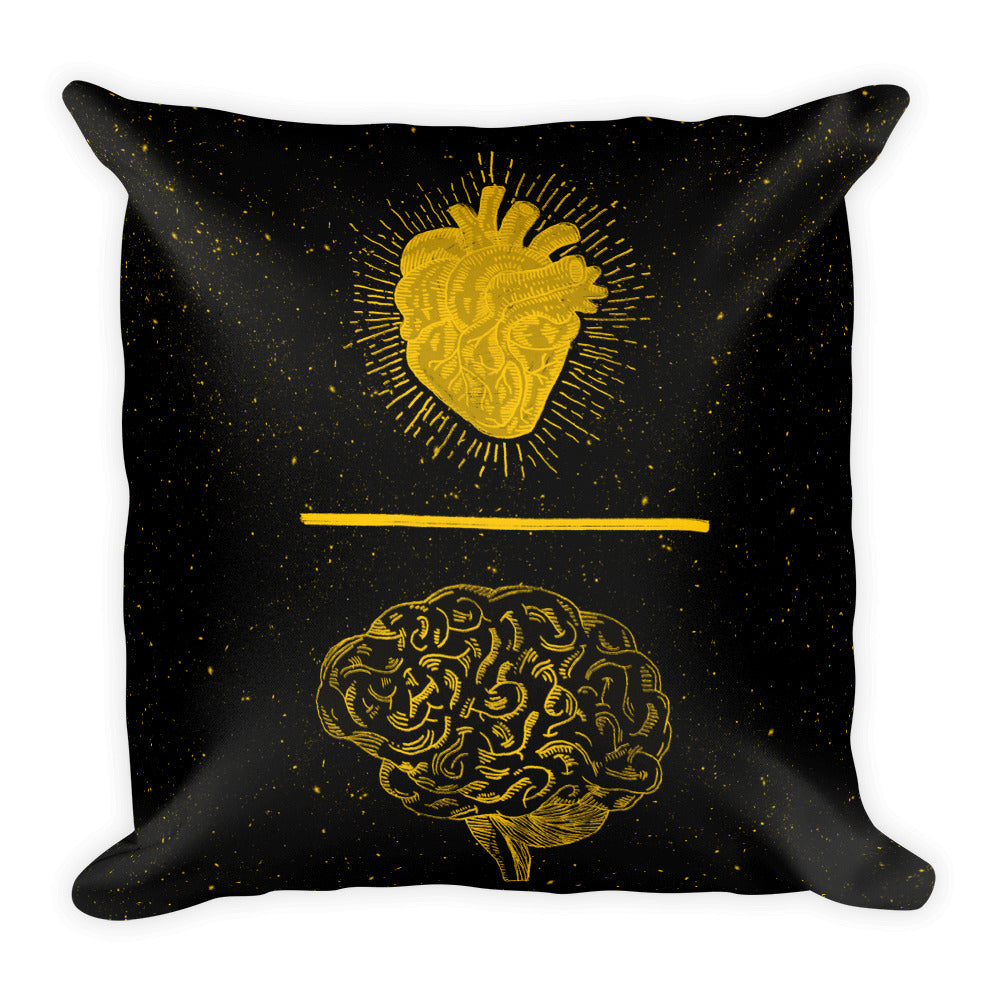 Emotion Trumps Reason Pillow