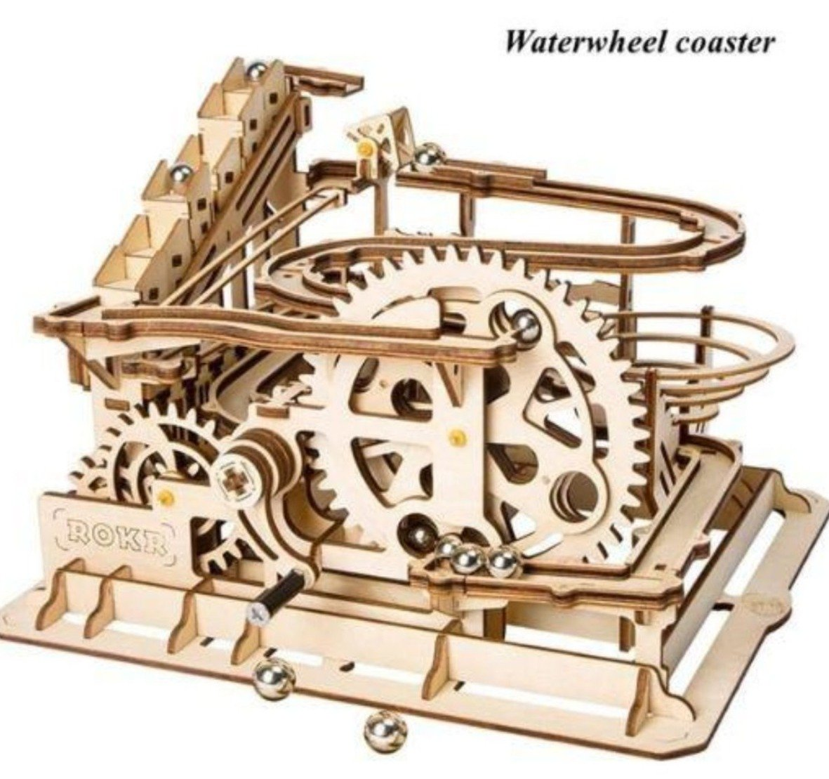 Wooden Marble Racer Run Model Kit Fuego Cloud - Waterwheel