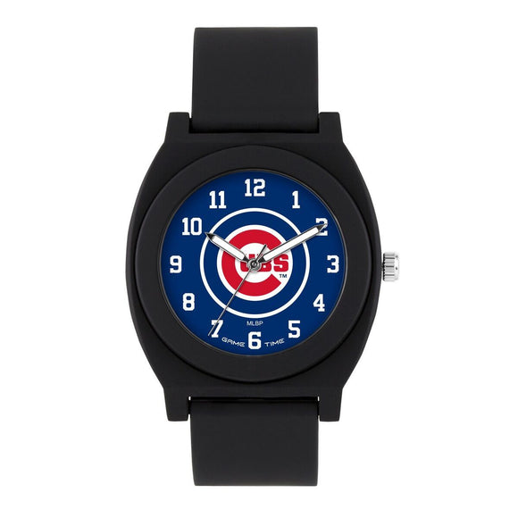 Chicago Cubs Fan Watch - Black MLB-FNB-CHI
