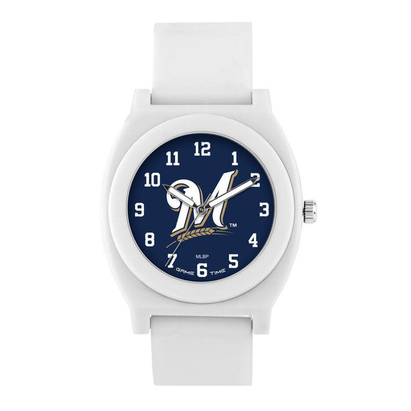 Milwaukee Brewers Fan Watch - White MLB-FNW-MIL