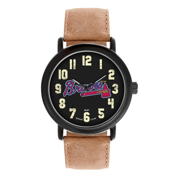 Atlanta Braves Throwback Watch MLB-TBK-ATL