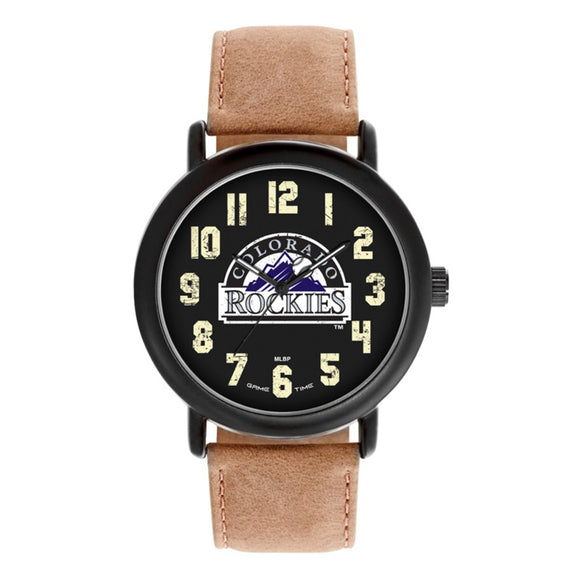 Colorado Rockies Throwback Watch MLB-TBK-COL
