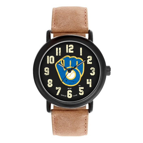 Milwaukee Brewers Throwback Watch MLB-TBK-MIL