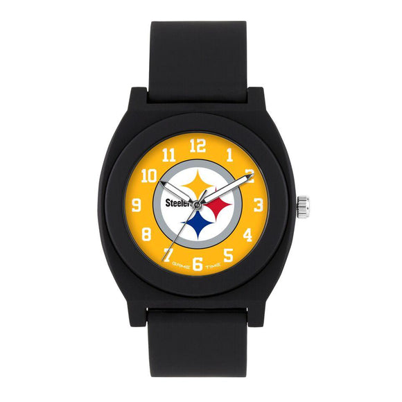 Pittsburgh Steelers Fan Watch - Black NFL-FNB-PIT