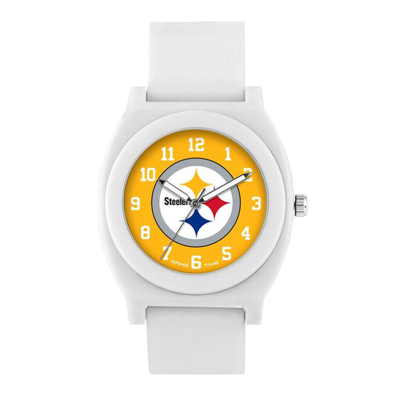 Pittsburgh Steelers Fan Watch - White NFL-FNW-PIT