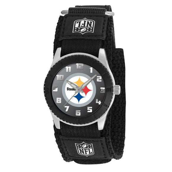 Pittsburgh Steelers Kids NFL Rookie Watch Black