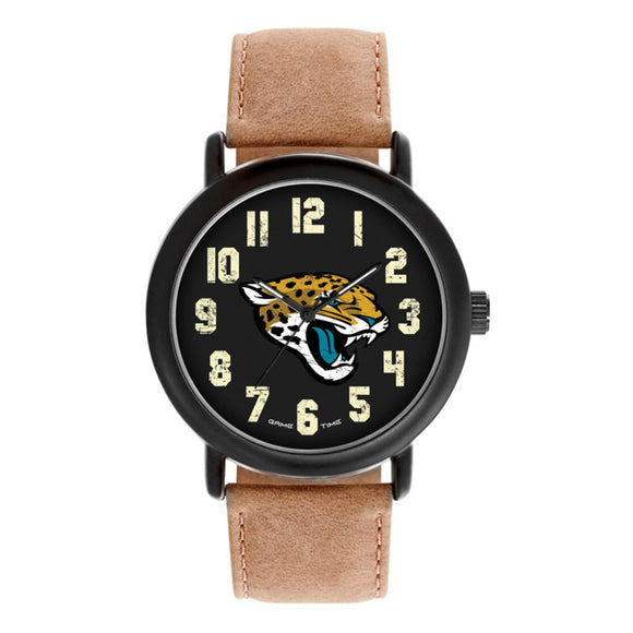 Jacksonville Jaguars Throwback Watch NFL-TBK-JAC