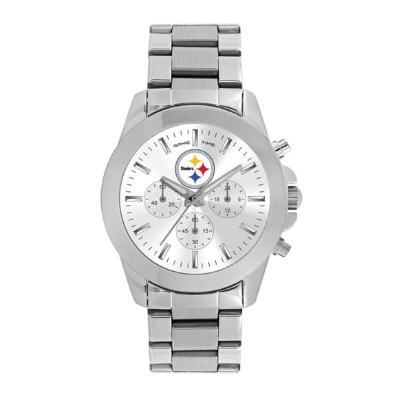 Pittsburgh Steelers Knock Out Watch NFL-TBY-PIT