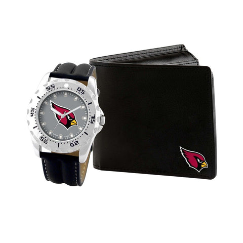 Arizona Cardinals Watch & Wallet Set NFL-WAW-ARI