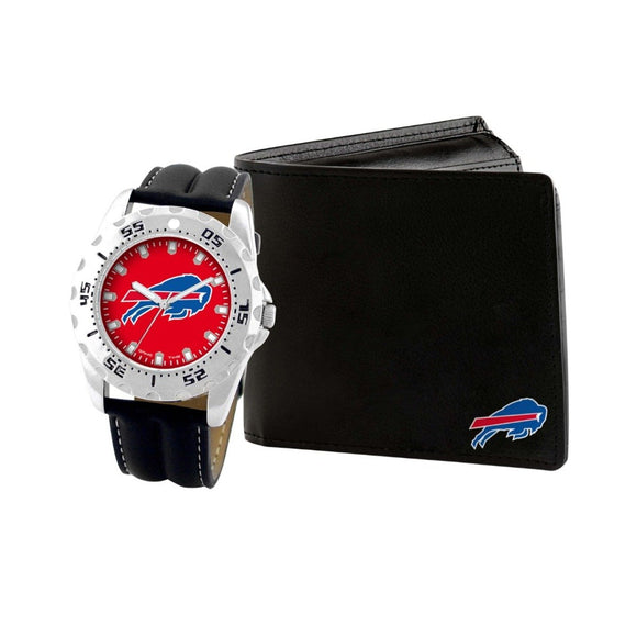 Buffalo Bills Watch & Wallet Set NFL-WAW-BUF