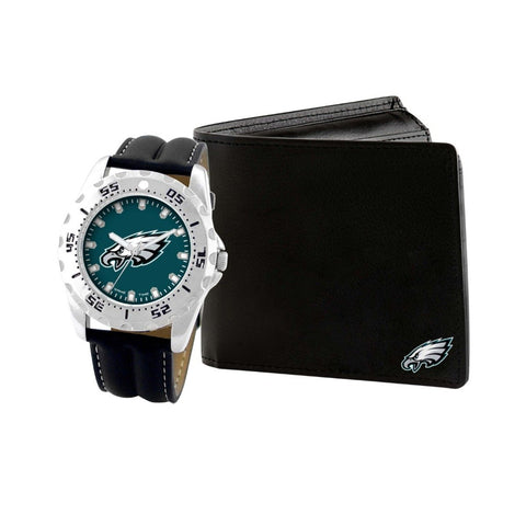 Philadelphia Eagles Watch & Wallet Set NFL-WAW-PHI