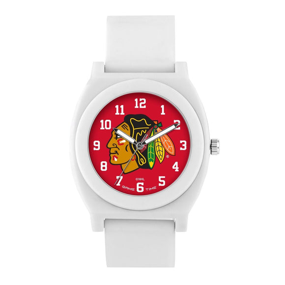 Chicago Blackhawks Fan Watch - White NHL-FNW-CHI