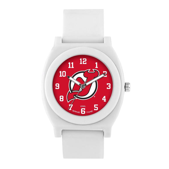 New Jersey Devils Fan Watch - White NHL-FNW-NJ