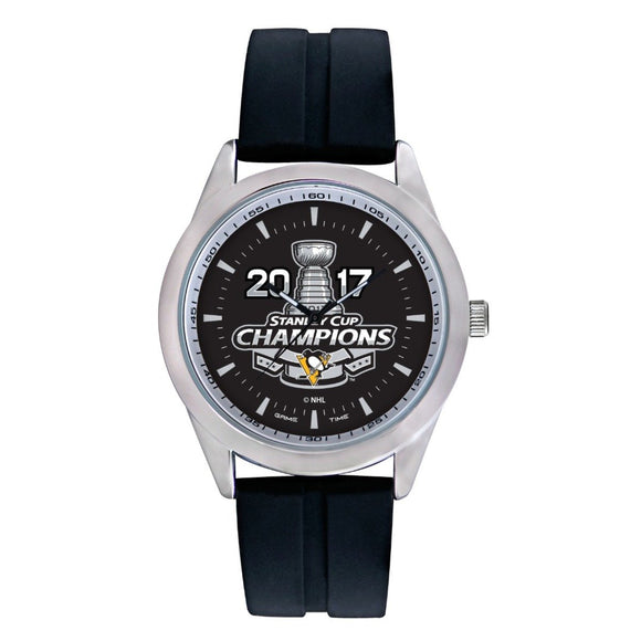 Pittsburgh Penguins Stanley Cup 2017 Varsity Watch NHL-VAR-PIT-CH17