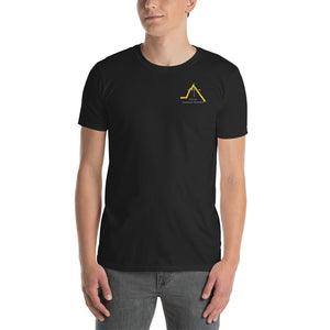 School Logo. Softstyle T-Shirt with Tear Away Label