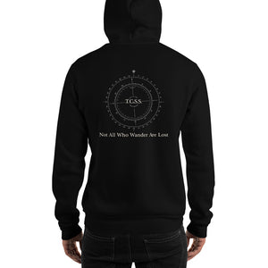 Not All Who Wander Are Lost, Heavy Blend Hooded Sweatshirt