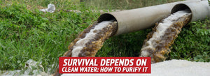 Survival Depends on Clean Water: How to Purify It