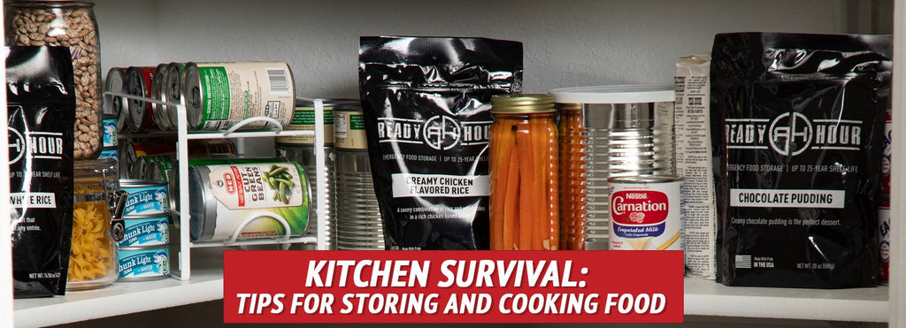 Kitchen Survival: Tips for Storing and Cooking Food
