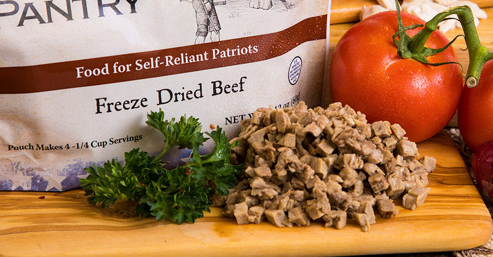 Freeze Dried Beef