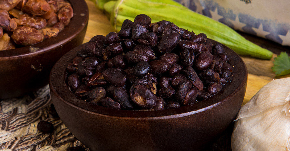 Freeze Dried Black Beans