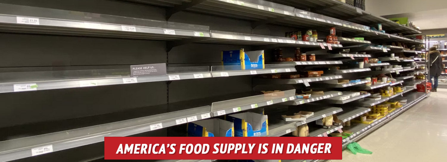 Many Americans naively believe food will always be available.