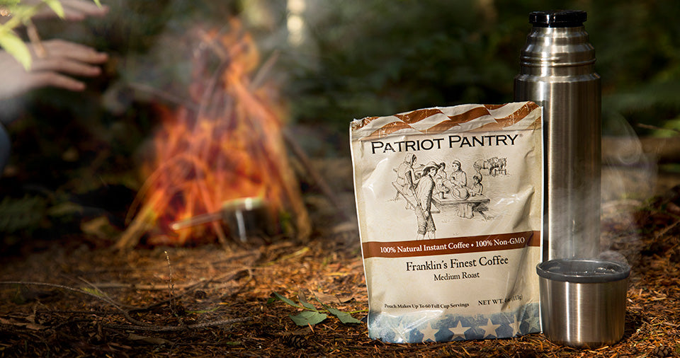 Patriot Pantry survival foods are made with non-GMO ingredients. No added MSG.