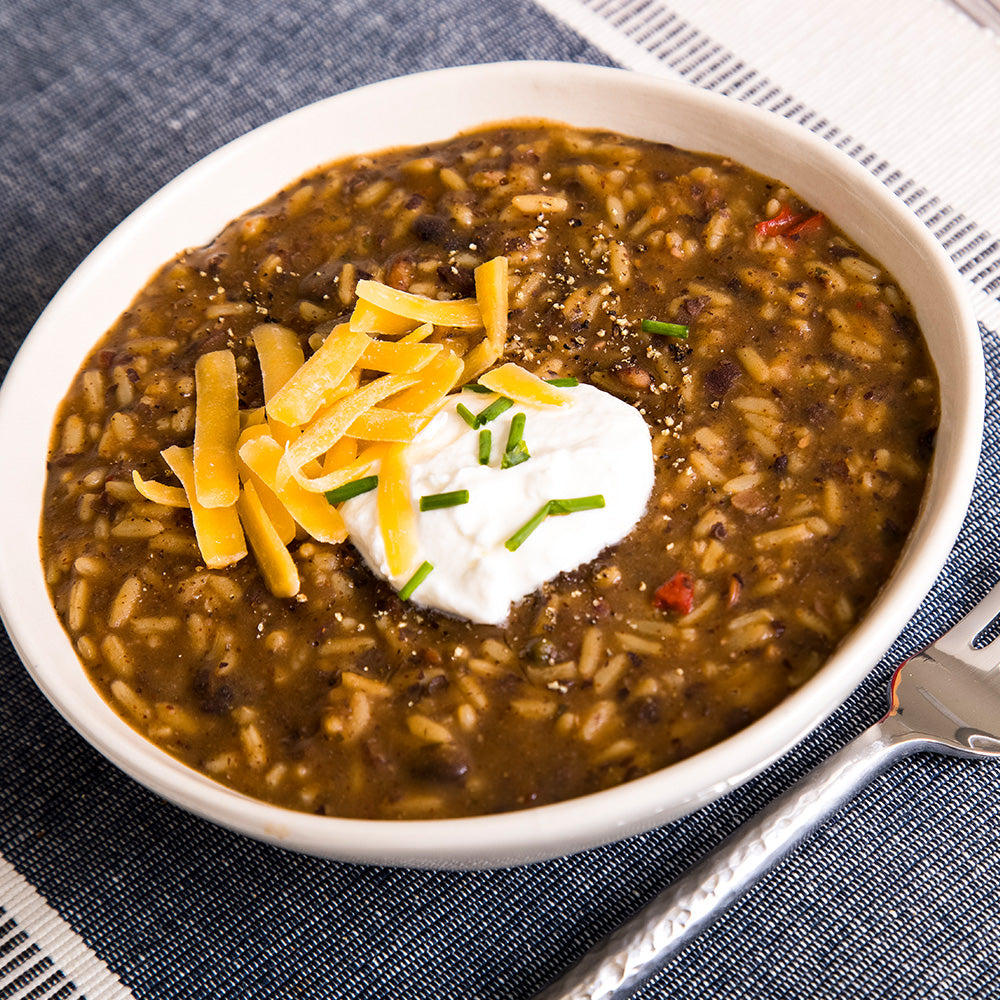 Rancher's Black Beans & Rice
