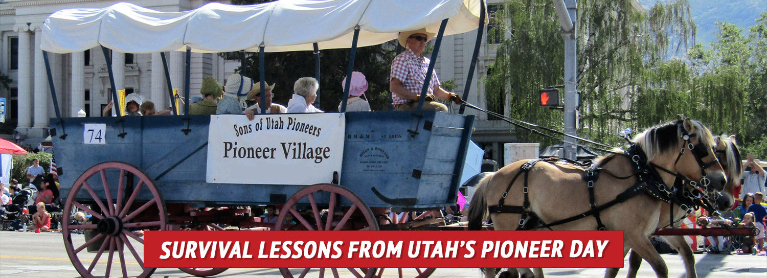 The 1,300 mile journey the early Mormon pioneers endured not only teaches us the importance of perseverance and resilience, but it also reminds us of the value of community in survival situations.]