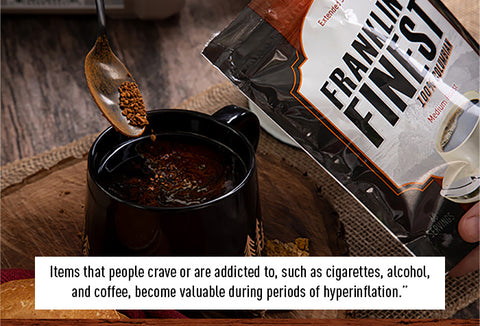 franklin's finest survival coffee