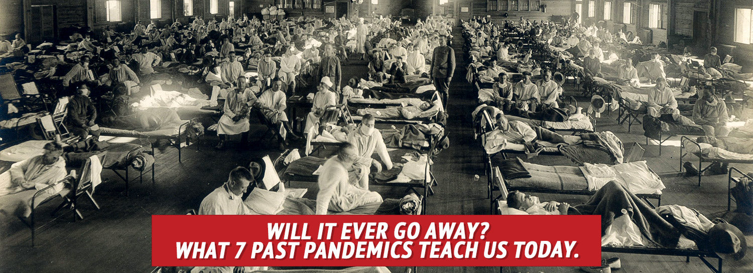 Spanish Flu patience in hospital: Will It Ever Go Away? What 7 Past Pandemics Teach Us Today.