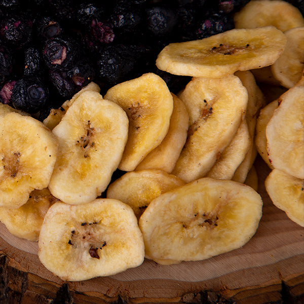 Sweetly Coated Banana Chips