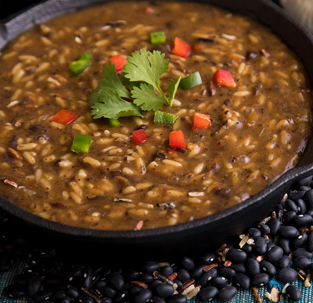 Black Beans & Rice Soup