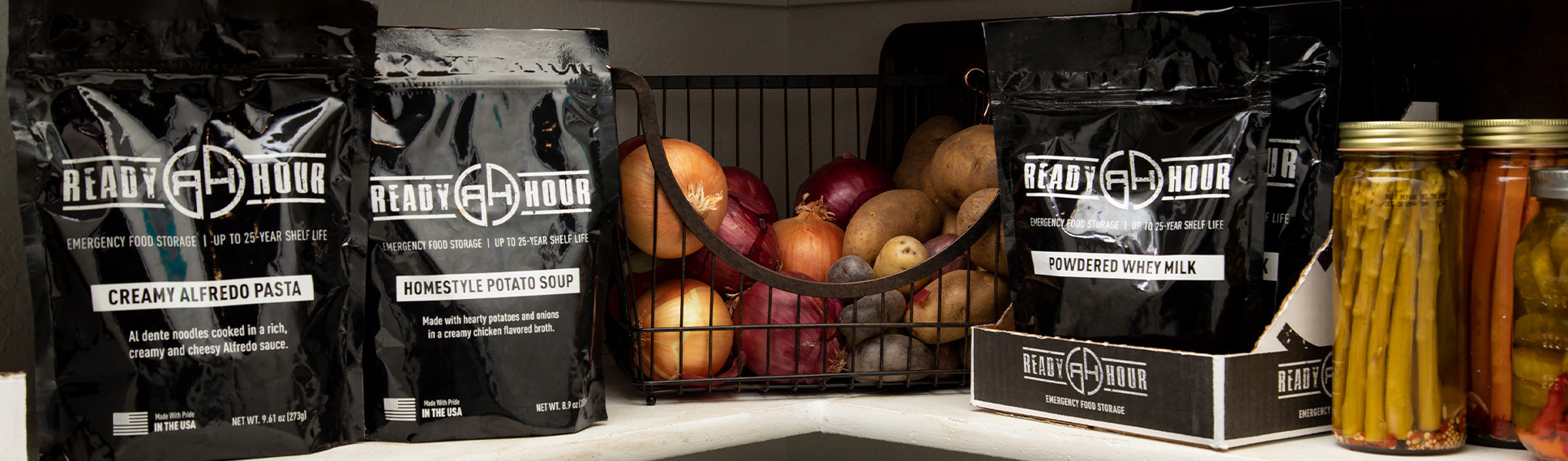 Case Pack Food Pouches fit easily in your pantry and are convenient to prepare