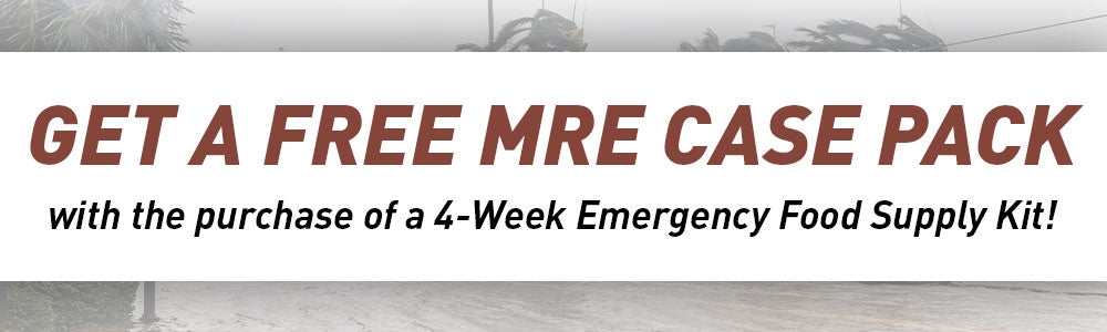 Get a Free MRE Case Pack!