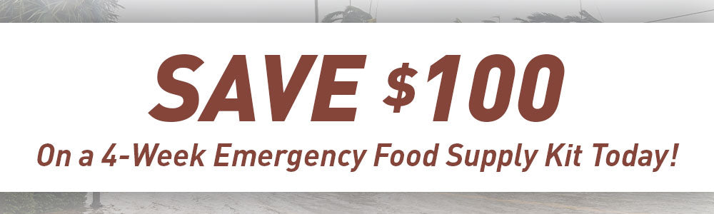 Save $100 on a 4-Week Supply Kit Today!