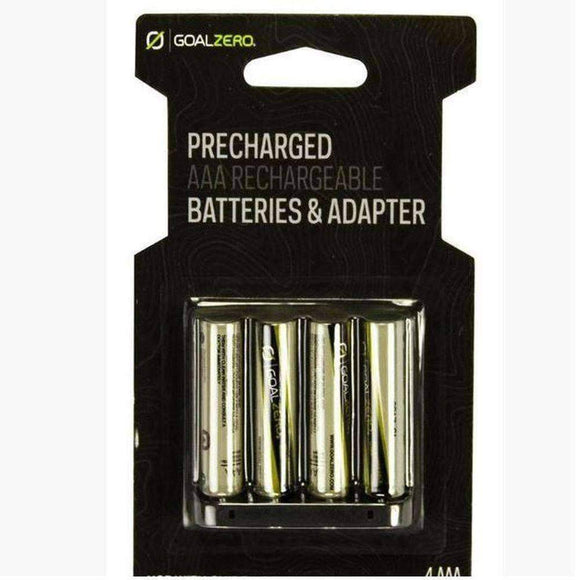 AAA Rechargeable Batteries with Adapter (4 pack) - My Patriot Supply