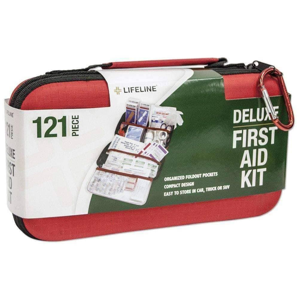 Lifeline Deluxe First Aid Kit (121 pieces)