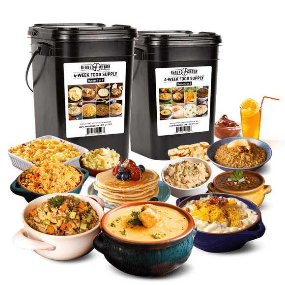 Glenn Beck Special: 4-Week Emergency Food Supply (2,000+ calories/day) - My Patriot Supply