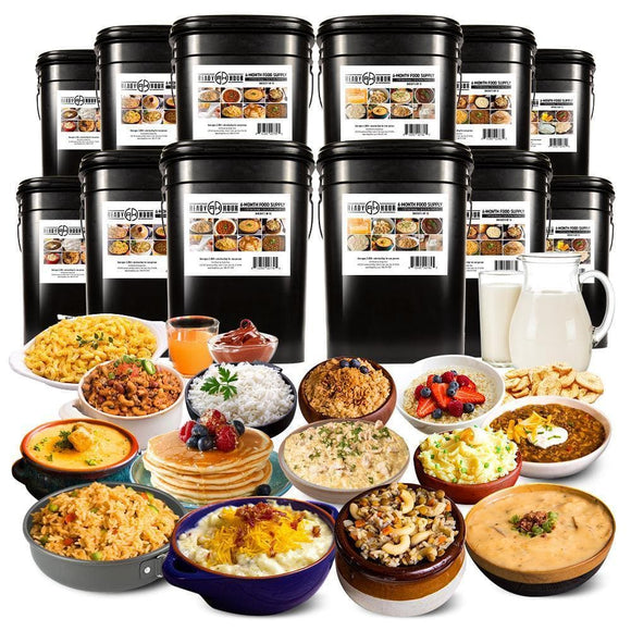 Special Offer - 6-Month Emergency Food Supply (2,000+ calories/day)
