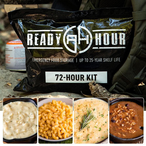 72-Hour Kit - Sample Pack (16 servings) - My Patriot Supply