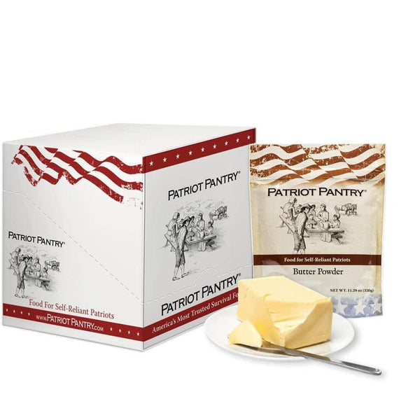 Butter Powder Case Pack (192 servings, 3 pk.) - My Patriot Supply