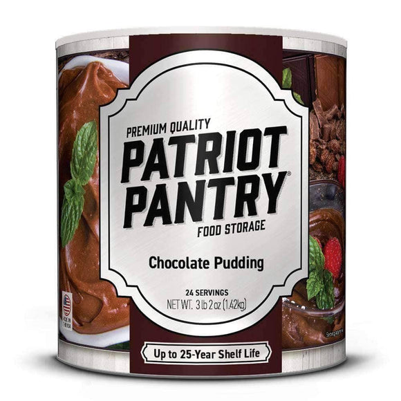Chocolate Pudding (24 servings) - My Patriot Supply