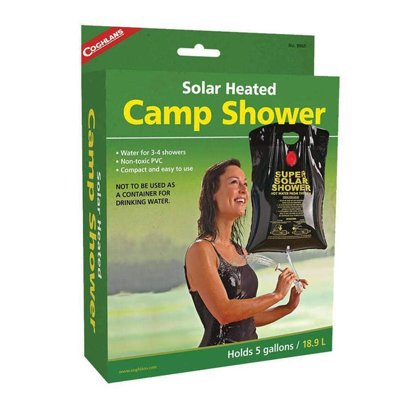Solar-Heated Camp Shower (5 gallon) - My Patriot Supply