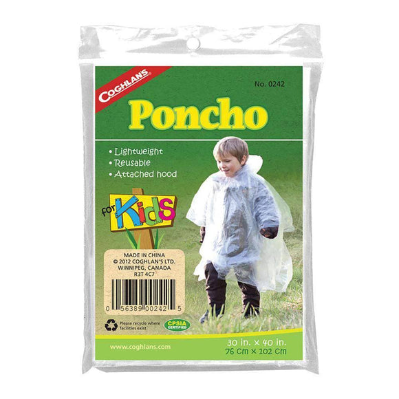 Kids Emergency Poncho - My Patriot Supply