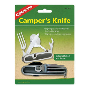 Camper's Knife with Fork and Spoon - My Patriot Supply