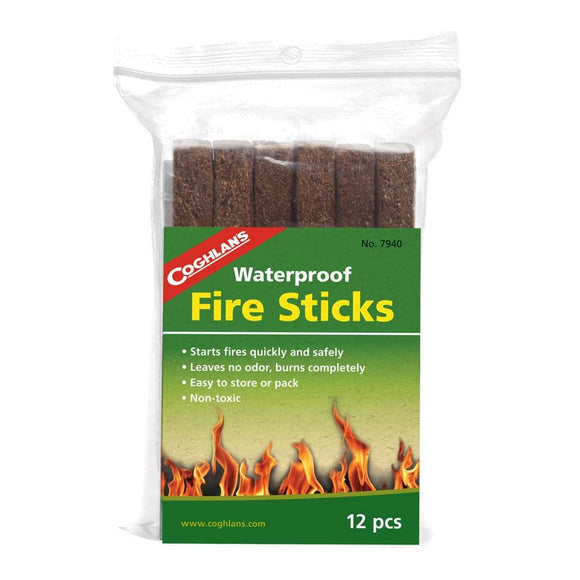 12 Waterproof Fire Sticks - My Patriot Supply