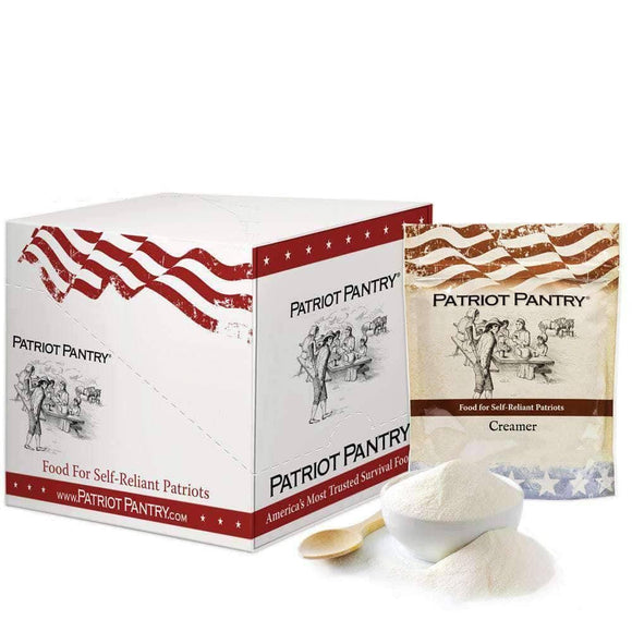 Creamer for Coffee Case Pack (360 servings, 4 pk.) - My Patriot Supply