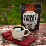 Franklin's Finest Coffee - Sample Pouch (60 servings) - My Patriot Supply