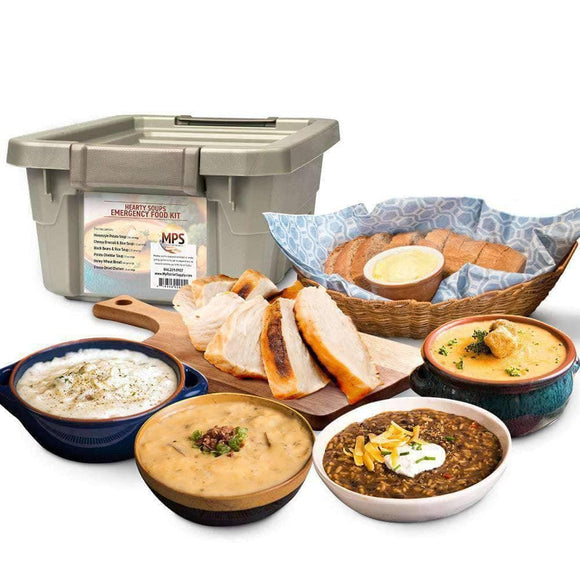 Hearty Soups Kit (104 servings, 1 tote) - My Patriot Supply