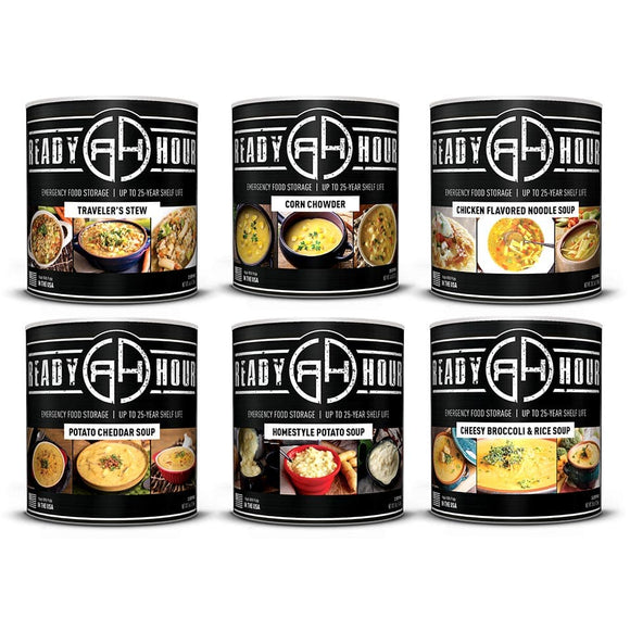 Hearty Soups #10 Can Pack (187 servings) - My Patriot Supply